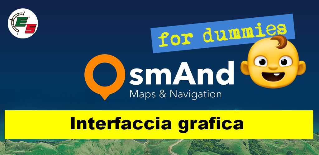 Interfaccia grafica OsmAnd