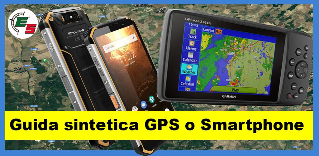 Guida sintetica GPS o Smartphone