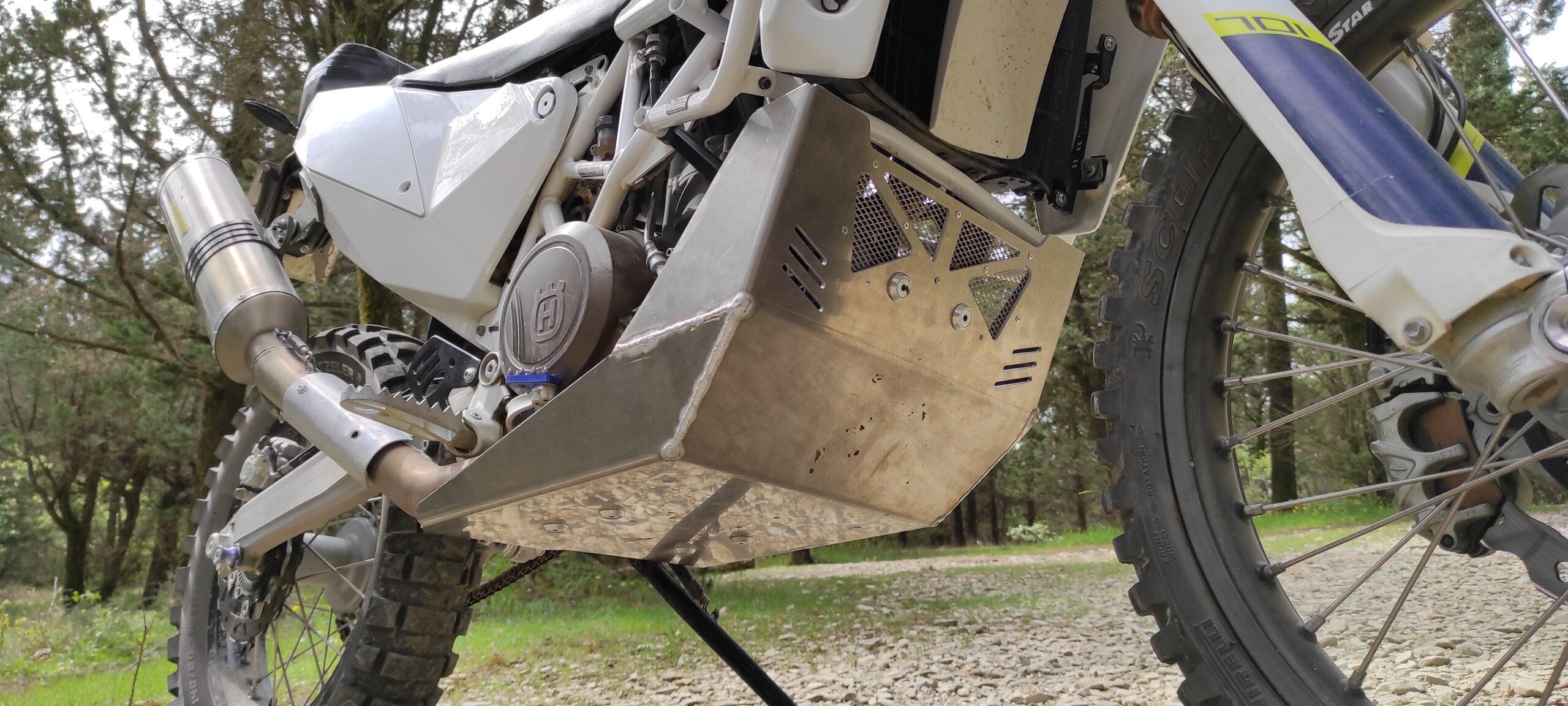 Paramotore skid plate rally style